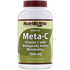 NutriBiotic, Meta-C, Buffered, 1,000 mg, 250 Vegan Tablets