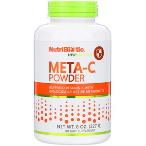 NutriBiotic, Immunity, Meta-C Powder, 8 oz (227 g)