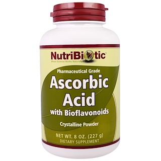 NutriBiotic, 含生物類黃酮的脫氫結晶粉末,8盎司(227克)