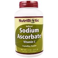 Буферизованный содой витамин C, кристаллический порошок, 8 унций (227 г) - фото