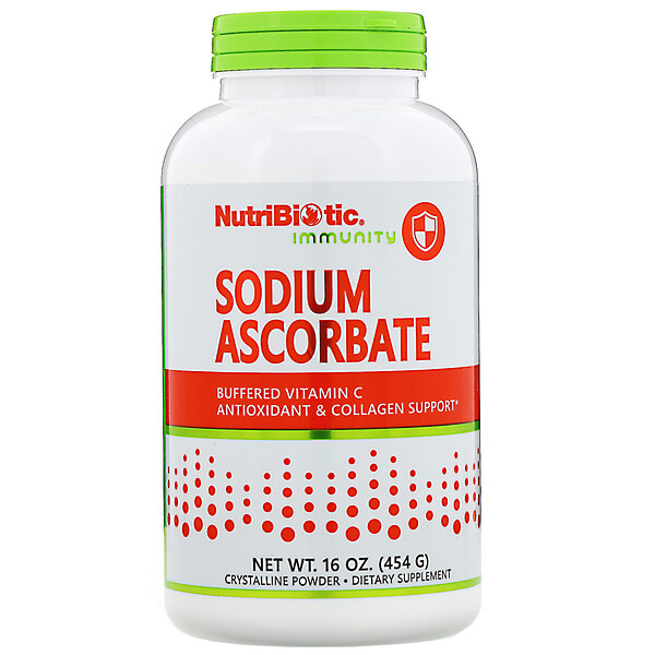 NutriBiotic, Immunity, Sodium Ascorbate, 16 oz (454 g)