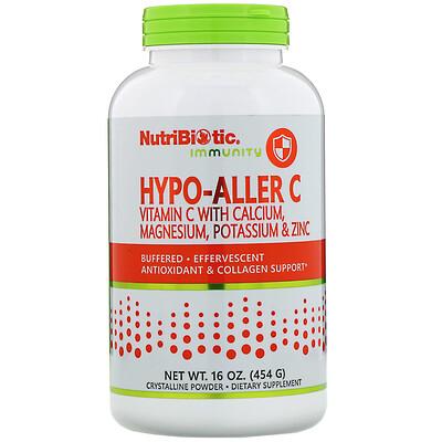 Купить Immunity, Hypo-Aller C Vitamin C with Calcium, Magnesium, Potassium & Zinc, 16 oz (454 g)