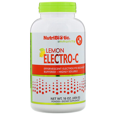 Immunity, Lemon Electro-C Powder, 16 oz (454 g)
