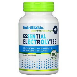 NutriBiotic, Essential Electrolytes, 100 Vegan Capsules