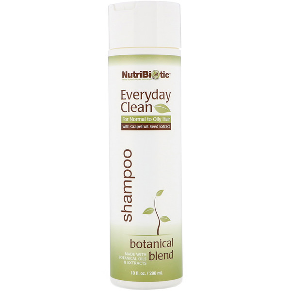 Everyday Clean, champú, Botanical Blend, 10 fl oz (296 ml)