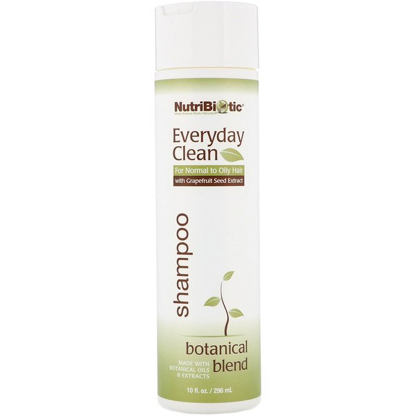 NutriBiotic, Everyday Clean, Shampoo, Botanical Blend, 10 fl oz (296 ml)