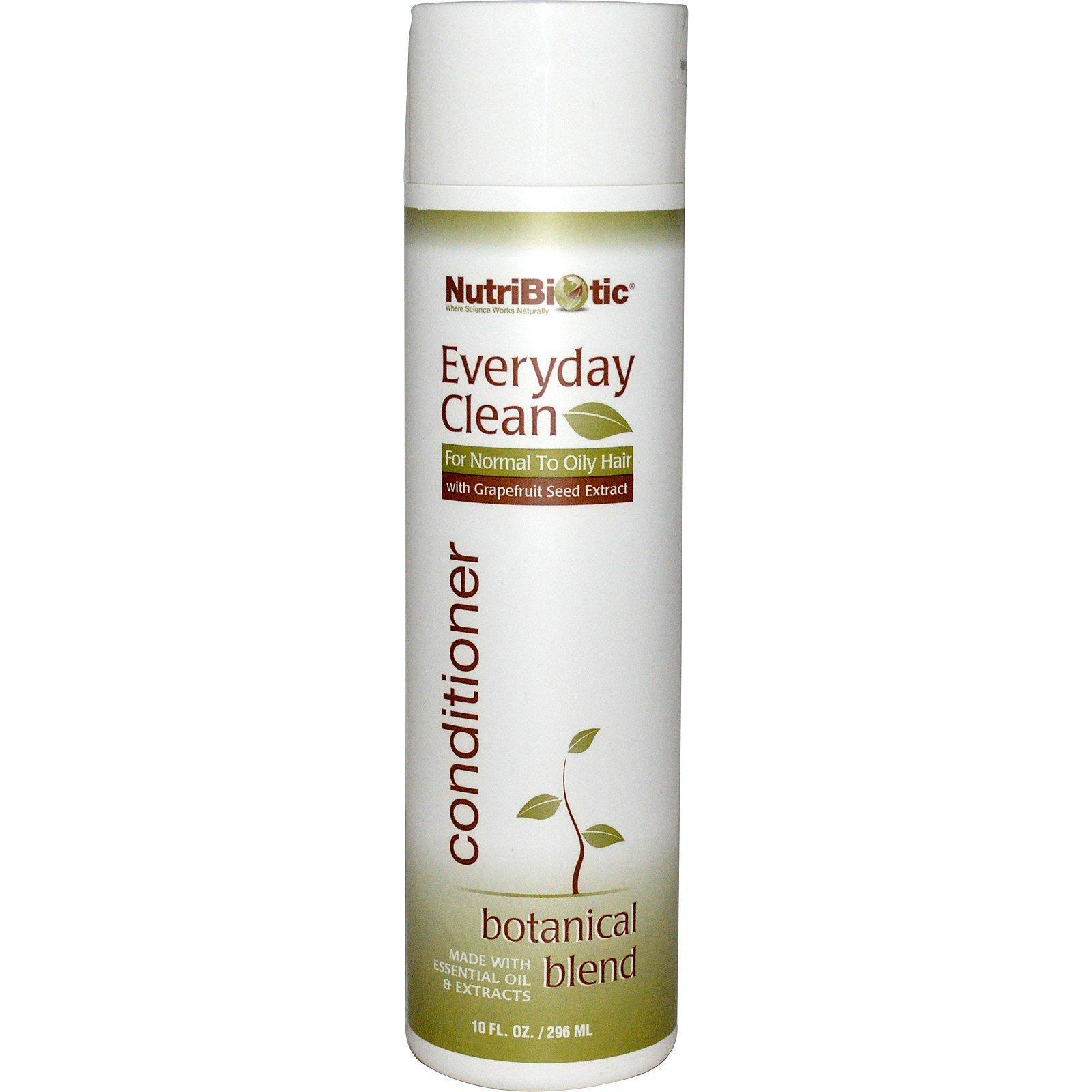 NutriBiotic, Чистота каждый день, кондиционер, растительная смесь, 10 жидк. унц. (296 мл)