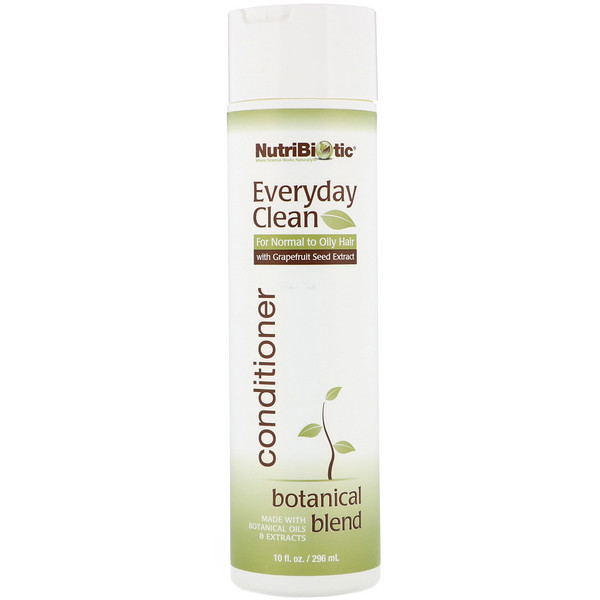 NutriBiotic, Everyday Clean, Conditioner, Botanical Blend, 10 fl oz (296 ml)