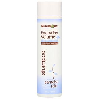 NutriBiotic, Everyday Volume Shampoo, Paradise Rain, 10 fl oz (296 ml)