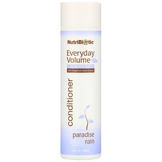 NutriBiotic, Everyday Volume Conditioner, Paradise Rain, 10 fl oz (296 ml)