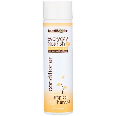 Купить NutriBiotic Everyday Nourish Conditioner, Tropical Harvest, 10 fl oz (296 ml)