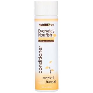 NutriBiotic, Everyday Nourish Conditioner, Tropical Harvest, 10 fl oz (296 ml)