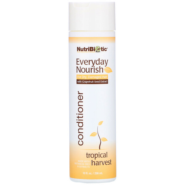 NutriBiotic, Everyday Nourish Conditioner, Tropical Harvest, 10 fl oz (296 ml)