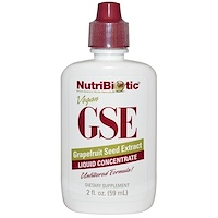 Жидкий концентрат GSE, экстракт семян грейпфрута, 59мл - фото