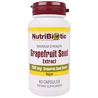 Экстракт семян грейпфрута, 250 мг, 60 капсул - фото