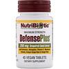 NutriBiotic, DefensePlus, Maximum Strength, 250 mg, 45 Vegan Tablets