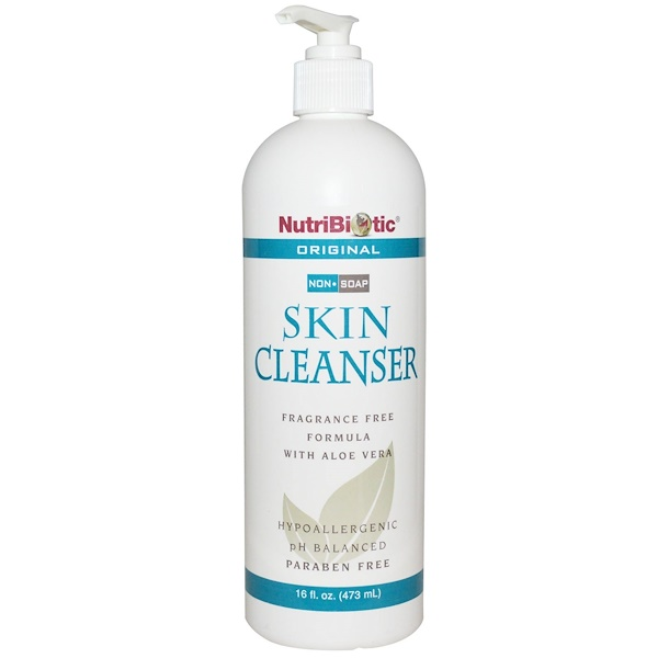 NutriBiotic, Skin Cleanser, Non-Soap, Original, 16 fl oz (473 ml)