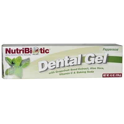 Купить Гель для зубов, Перечная мята, 4, 5 унции (128 г)
