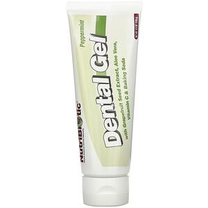 Нутрибиотик, Dental Gel, Peppermint, 4.5 oz (128 g) отзывы покупателей