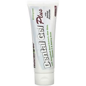 Нутрибиотик, Dental Gel Plus, Truly Whitening, Wintergreen, 4.5 oz (128 g) отзывы