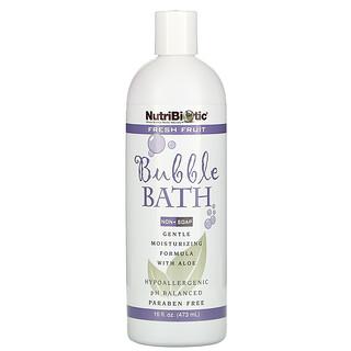 NutriBiotic, Bubble Bath, Non-Soap, Fresh Fruit, 16 fl oz (473 ml)