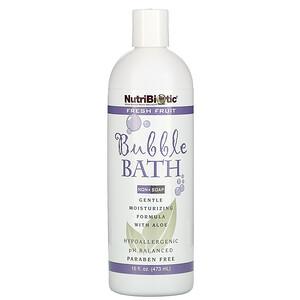 Нутрибиотик, Bubble Bath, Non-Soap, Fresh Fruit, 16 fl oz (473 ml) отзывы