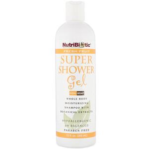 Нутрибиотик, Super Shower Gel, Non-Soap, Fresh Fruit , 12 fl oz (355 ml) отзывы покупателей