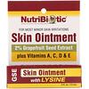 NutriBiotic, Pomada para la piel, 2% extracto de semilla de toronja con lisina, .5 fl oz (15 ml)
