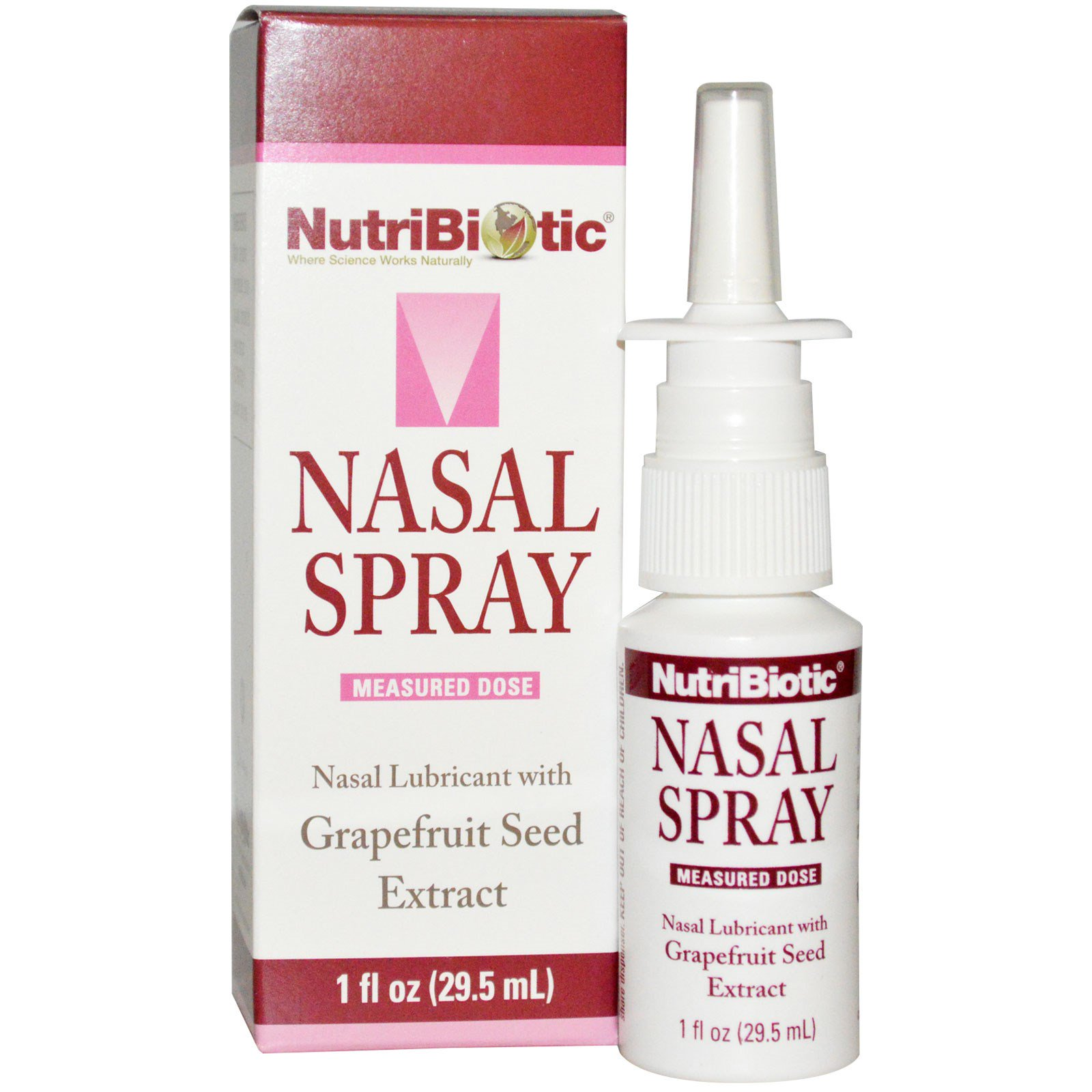 NutriBiotic Nasal Spray with Grapefruit Seed Extract 1 fl oz