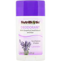 NutriBiotic, Deodorant, Lavender, 2.6 oz (75 g)