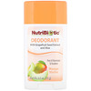 NutriBiotic, Deodorant, Mango Melon, 2.6 oz (75 g)