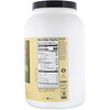 "NutriBiotic, חלבון אורז גולמי אורגני, טעם טבעי, 1.36 ק""ג (lbs 3)"