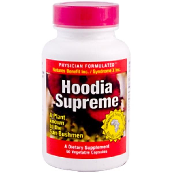 Nature's Benefit, Hoodia Supreme, 60 Veggie Caps (Discontinued Item)
