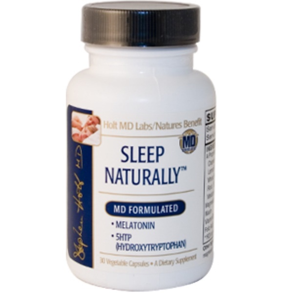 Nature's Benefit, Sleep Naturally, 30 Veggie Caps (Discontinued Item)