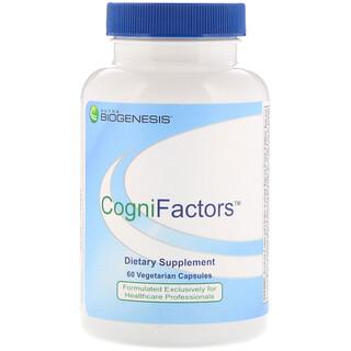 Nutra BioGenesis, CogniFactors, 60 Vegetarian Capsules
