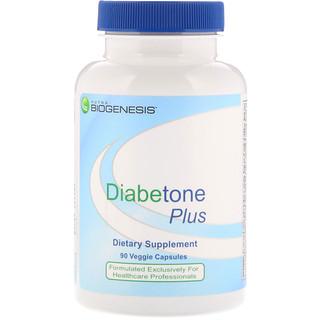 Nutra BioGenesis, Diabetone Plus, 90 Veggie Capsules