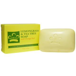 Nubian Heritage, Lemongrass & Tea Tree Soap, 5 oz (141 g)