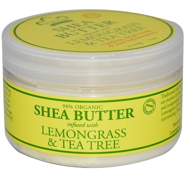 Nubian Heritage, Shea Butter, Infused with Lemongrass & Tea Tree, 4 oz (114 g)