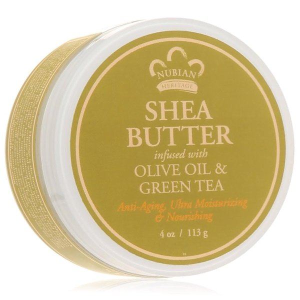 Nubian Heritage, Shea Butter, Infused with Olive Oil & Green Tea Extracts, 4 oz (114 g) (Discontinued Item)