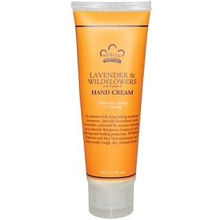 Nubian Heritage, Hand Cream, Lavender & Wildflowers, 4 oz (118 ml)
