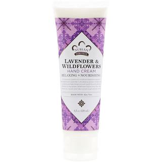 Nubian Heritage, Hand Cream, Lavender & Wildflowers, 4 oz (118 ml)
