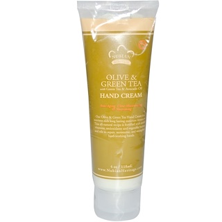 Nubian Heritage, Olive & Green Tea Hand Cream, 4 fl oz (118 ml)