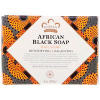 Африканское черное мыло кусковое, 142 г (5 унц) - фото
