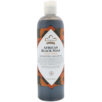 Средство для мытья тела, африканское черное мыло, 384мл - фото