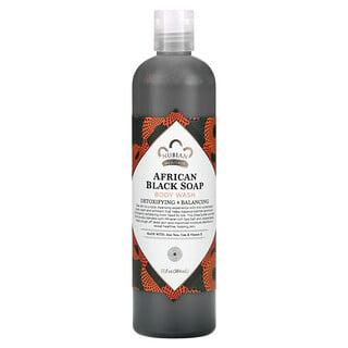 Nubian Heritage, Body Wash, African Black Soap, 13 fl oz (384 ml)