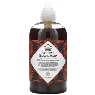 Nubian Heritage, Liquid Hand Soap, African Black Soap, 12.3 fl oz (364 ml)
