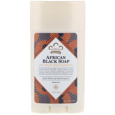 Дезодорант с защитой 24 часа, африканское черное мыло, 64 г абхъянга 2 часа