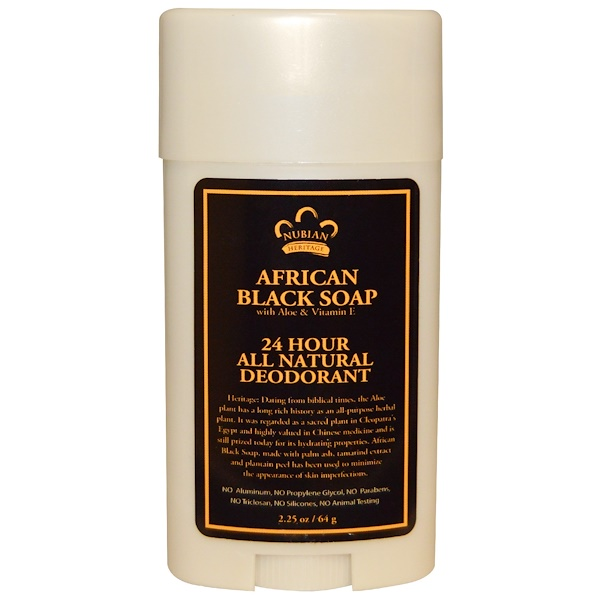 Nubian Heritage  Hour All Natural Deodorant Review
