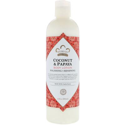 Купить Лосьон для тела, кокос и папайя, 13 жидких унций (384 мл)