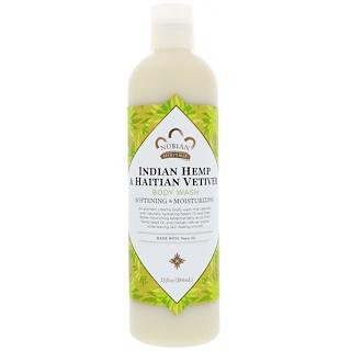 Nubian Heritage, Body Wash, Indian Hemp & Haitian Vetiver , 13 fl oz (384 ml)